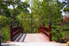 Asiatische Brücke Stockfotos