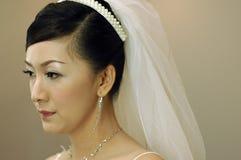 Asiatische Braut Stockfotografie
