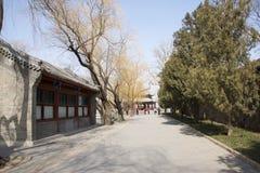 Asiatische Chinesen, Peking, der Sommer-Palast, lang ru tönen Lizenzfreies Stockfoto