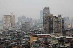 Asiatische Elendsviertel lizenzfreies stockbild