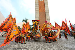 Asiatische ethnische kulturelle Leistungen 2011 Lizenzfreies Stockfoto