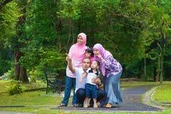 Asiatische Familie Stockfotografie