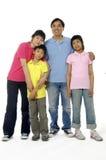 Asiatische Familie Lizenzfreies Stockbild