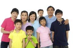 Asiatische Familie Stockfotos