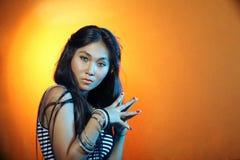 Asiatische Frau lizenzfreies stockbild