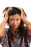 Asiatische Frau Lizenzfreies Stockfoto