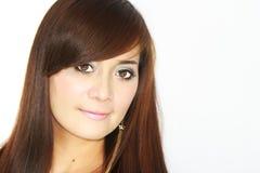 Frauen-Gesicht Stockfoto