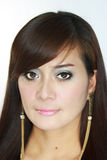 Asiatisches Frauen-Porträt Lizenzfreie Stockbilder