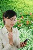 Asiatische Geschäftsfrau Lizenzfreies Stockbild