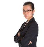 Asiatische Geschäftsfrau In Dark Suit II Lizenzfreies Stockfoto