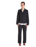 Asiatische Geschäftsfrau In Dark Suit IV Stockbild