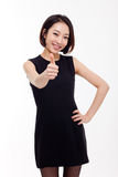 Asiatische Geschäftsfrau Yong recht Lizenzfreie Stockfotos