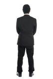 Asiatische Geschäftsmannrückseitenansicht Lizenzfreies Stockfoto