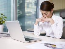 Asiatische Geschäftsfrau Lizenzfreies Stockfoto