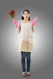Asiatische Hausfrau Lizenzfreie Stockfotografie