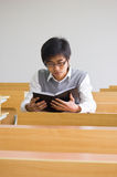Asiatische Hochschulstudenten stockbild