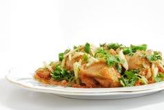 Asiatische Huhnnahrung Lizenzfreies Stockfoto