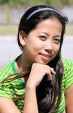 Asiatische junge Dame stockbilder