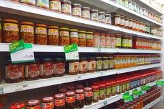 Asiatische Küche-Produkte Stockfotos