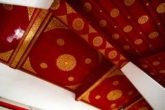 Asiatische Kunst-Decke Stockfoto