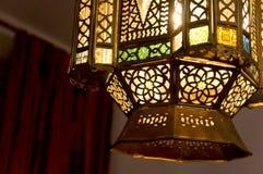 Asiatische Lampe Lizenzfreies Stockfoto