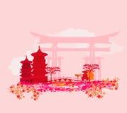 Asiatische Landschaft Stockfotografie