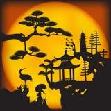 Asiatische Landschaft 2 Lizenzfreies Stockfoto