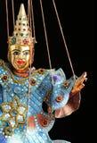 Asiatische Marionette Stockbild