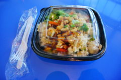 Asiatische Nahrungsmittelschüssel Lizenzfreie Stockfotos
