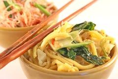 Asiatische Nudeln stockbilder