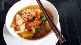 Asiatische Nudeln Stockfoto