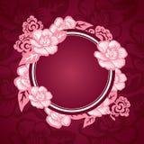 Asiatische orientalische Muster Design-Schablone Stockfoto