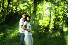 Asiatische Paare Lizenzfreies Stockbild