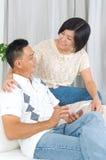 Asiatische Paare Stockfotografie