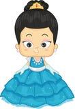 Asiatische Prinzessin Stockfoto