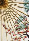 Asiatische Regenschirmnahaufnahme Lizenzfreie Stockfotografie