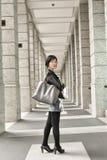 Asiatische reife Frau lizenzfreie stockbilder