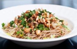 Asiatische Reis-Nudeln Lizenzfreies Stockfoto