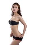 Asiatische Schönheit, Frauenmodell Lizenzfreies Stockfoto