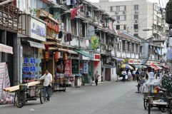 Asiatische Straße Lizenzfreies Stockbild