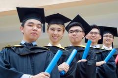 Asiatische Studenten im Aufbaustudium Lizenzfreie Stockfotografie