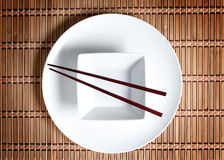 Asiatische Tabelleneinstellung Lizenzfreie Stockbilder