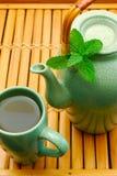 Asiatische Teekanne Stockfotos