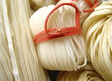 Asiatische Teigwaren Lizenzfreies Stockfoto