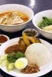 Asiatische Teller Stockfoto