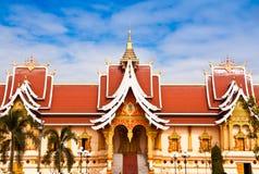 Asiatische Tempel. Stockfotografie