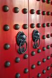 Asiatische Tür Stockfotografie