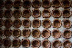 Asiatische trinkende Potenziometer Stockfotografie