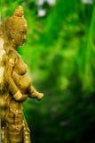Asiatische weibliche Statue lizenzfreies stockfoto