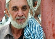 Asiatischer alter Mann Stockbild